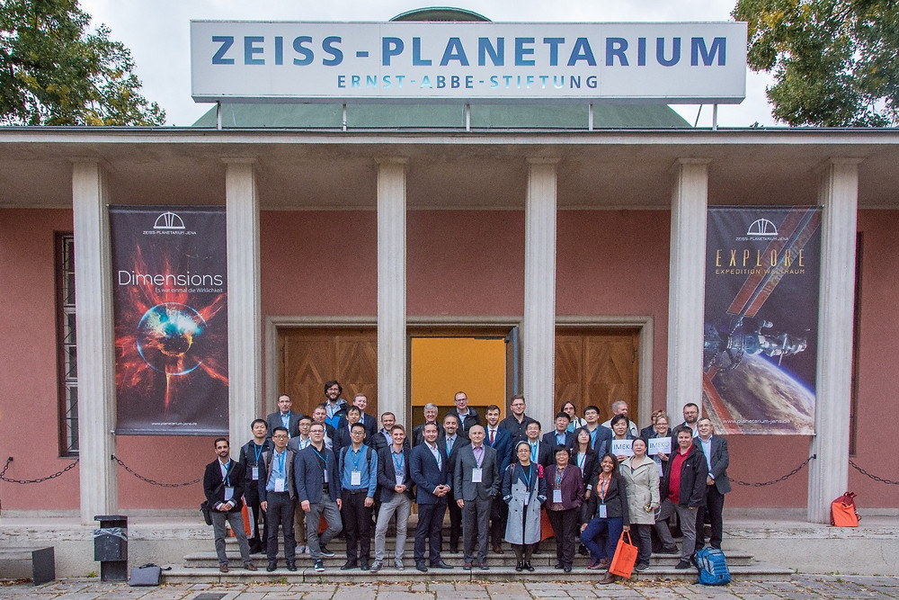 Figure 4: Participants of the conference at the Zeiss-Planetarium