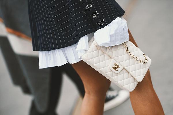 Chanel bag w: black blazar - ag creative