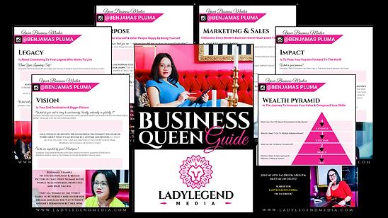 business queen guide Benjamas pluma lady