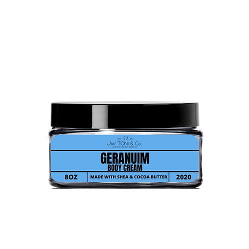 Geranium Body Cream