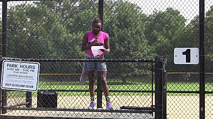 Inner City Tennis Clinics Poetry Slam Destination