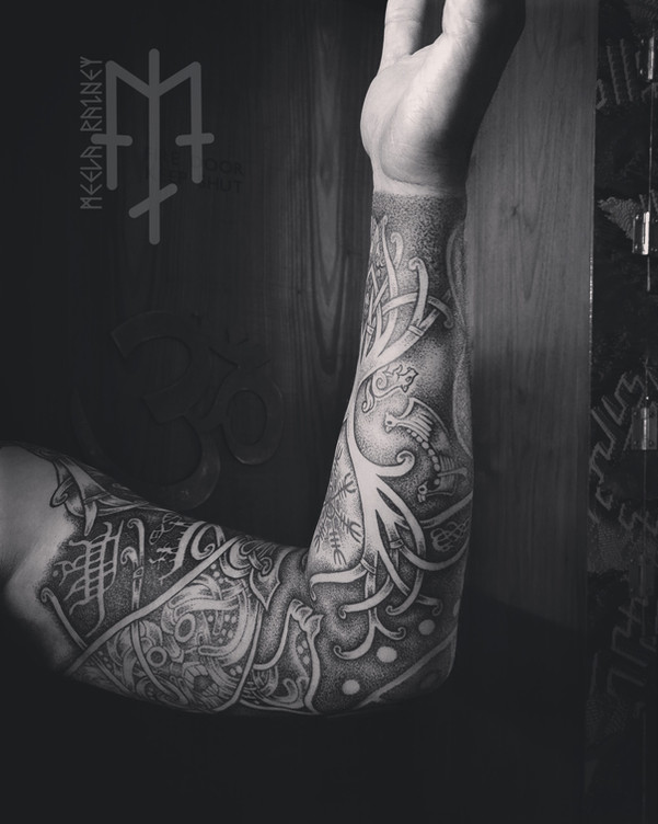 yggdrasil fenrir tattoo
