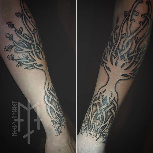 yggdrasil norns tattoo
