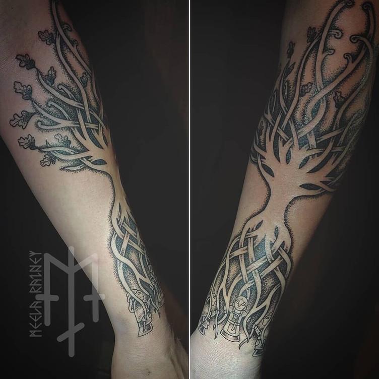 yggdrasil norns tattoo