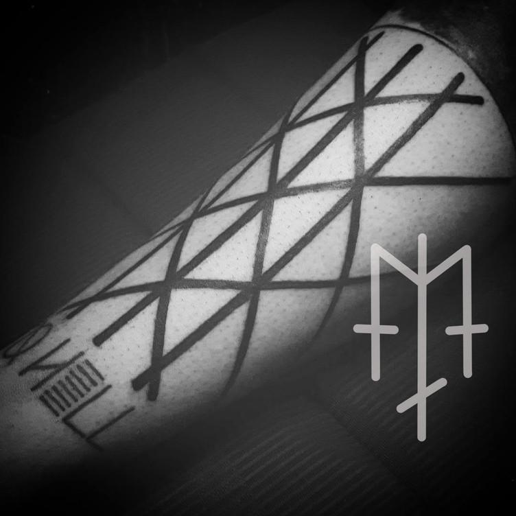 web of wyrd tattoo