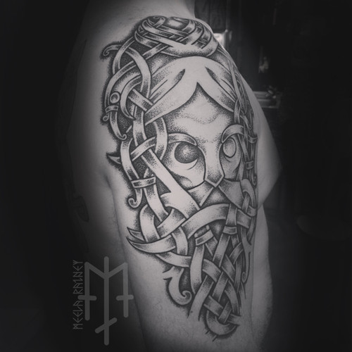 odin ravens tattoo