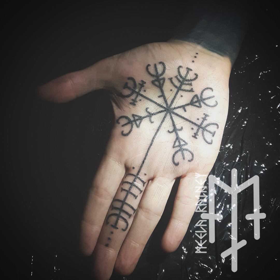 magic symbol tattoo