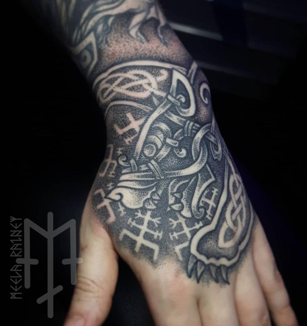 nordic bear tattoo