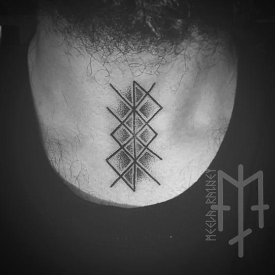 bindrune tattoo