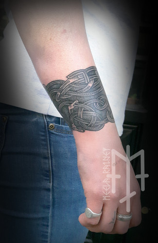 Sutton Hoo tattoo