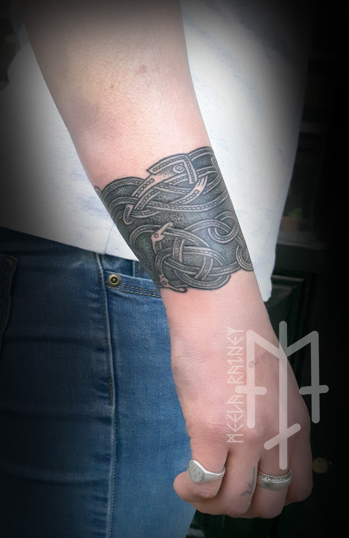 Sutton Hoo tattoo