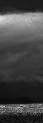 Grande nuvola scura
