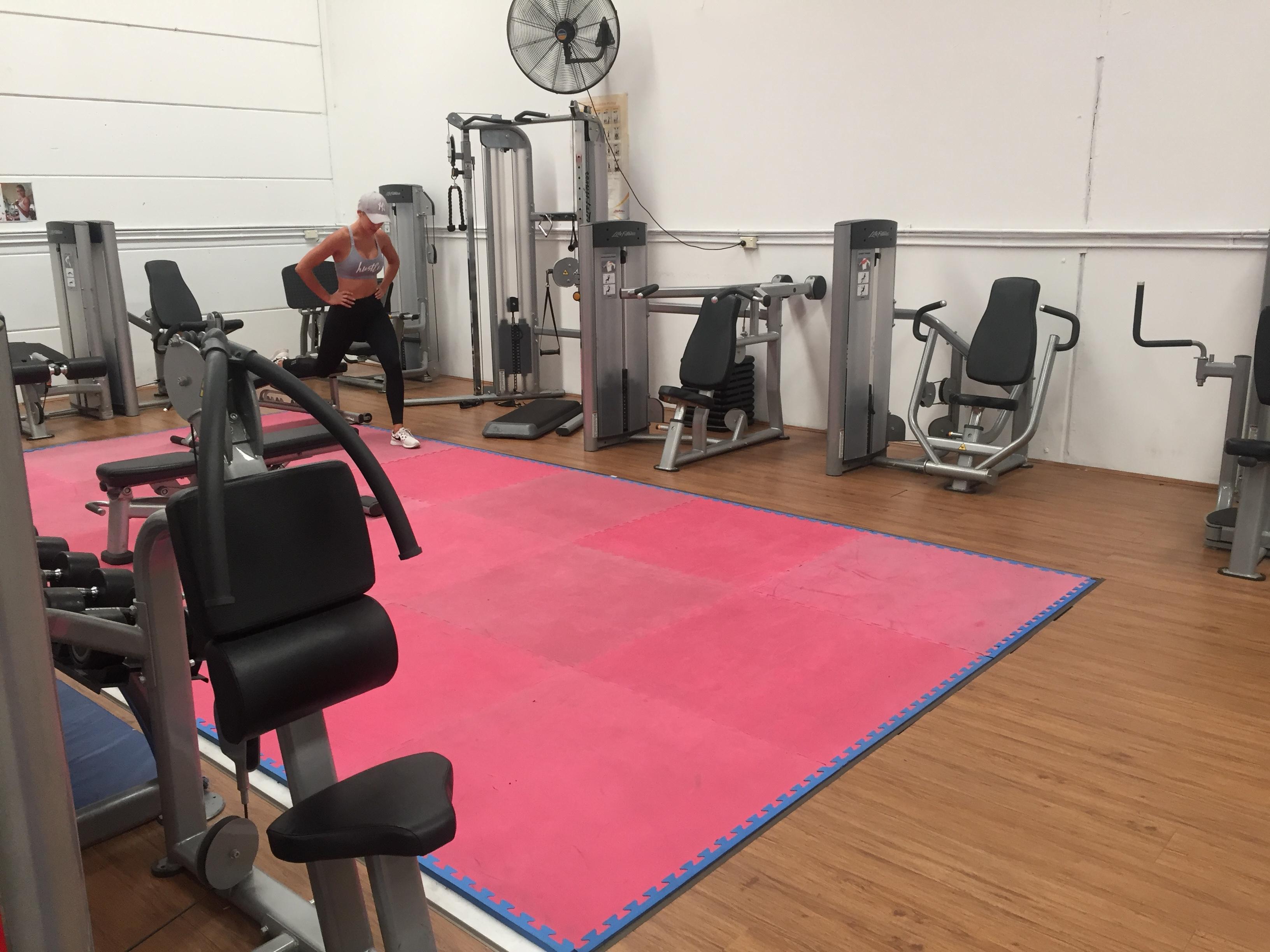 womens weights gym