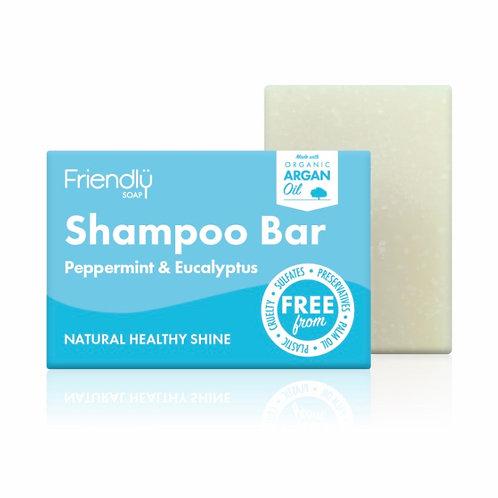 Friendly Soap - Shampoo Bar Peppermint and Eucalyptus