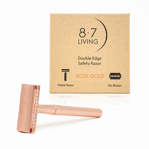 Rose Gold Double Edge Safety Razor