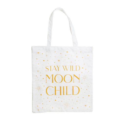 Sass and Belle - Celestial Moon Child Tote Bag