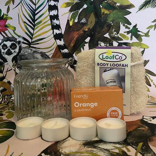 Sage and Ivory Group - Bath Time Gift Set