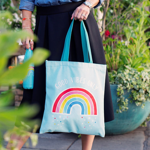 Sass and Belle - Chasing Rainbow Tote Bag