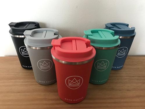 Neon Kactus - Reusable Insulated Coffee Cup