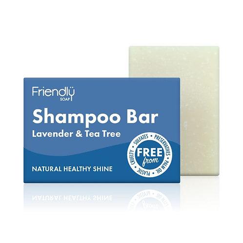 Friendly Soap - Shampoo Bar Lavender and Tea Tree
