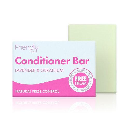 Friendly Soap - Conditioner Bar Lavender and Geranium