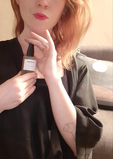le rituel olfactif de camille