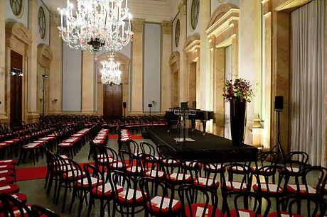 Festsaal der Italienischen Botschaft Berlin