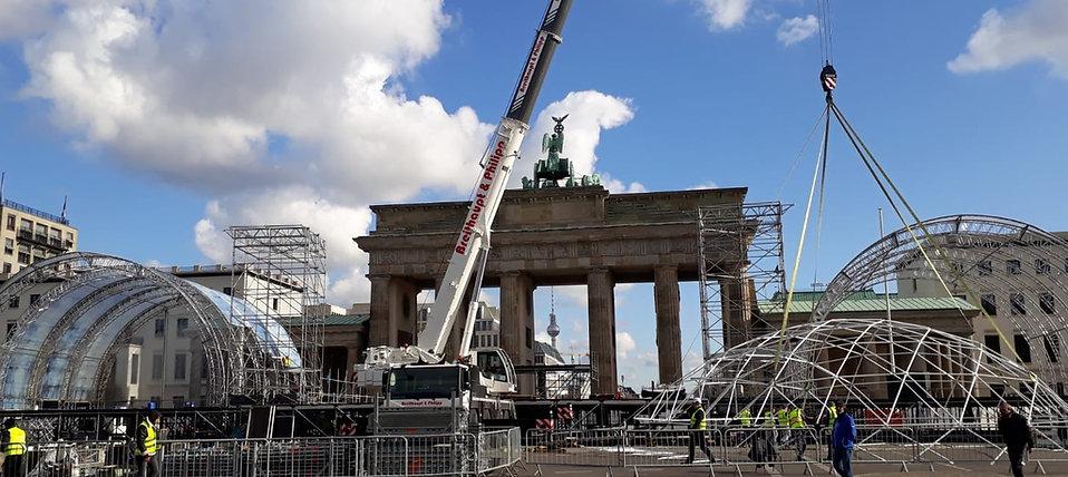IVV Veranstalungsmanagement - 30 Jahre Mauerfall / friedliche Revolution Berlin