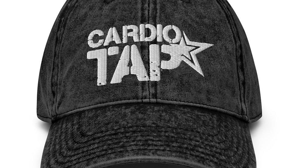 Vintage CardioTAP Cotton Twill Cap