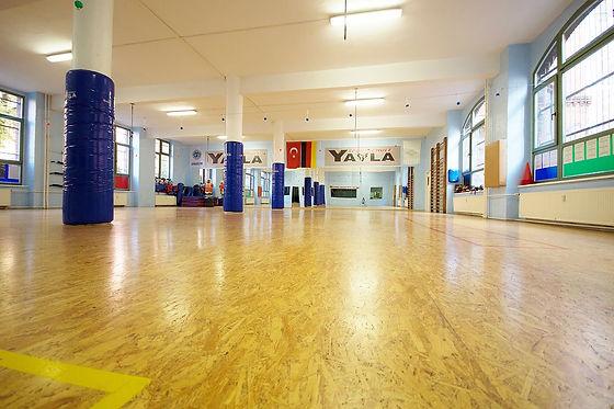 Taekwondo: Trainingshalle der Yayla Sportschule