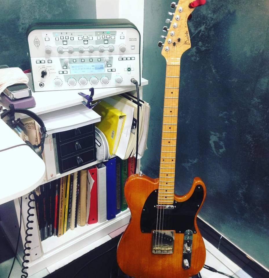 Masiello caster + Kemper amp