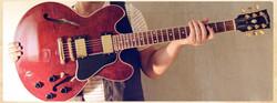 Gibson ES335 Wine Red