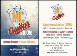 MC Guitar card