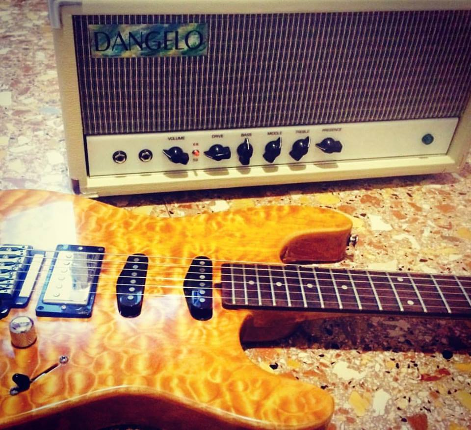 Masiello guitar & Dangelo amp