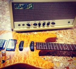Masiello guitar + Dangelo amp
