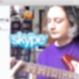 lezioni di chitarra via skype - skype guitar lessons