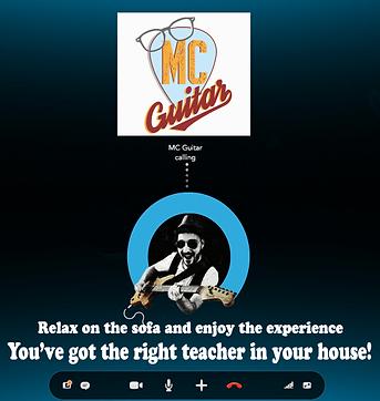 lezioni di chitara via skype, skypr guitar lessons
