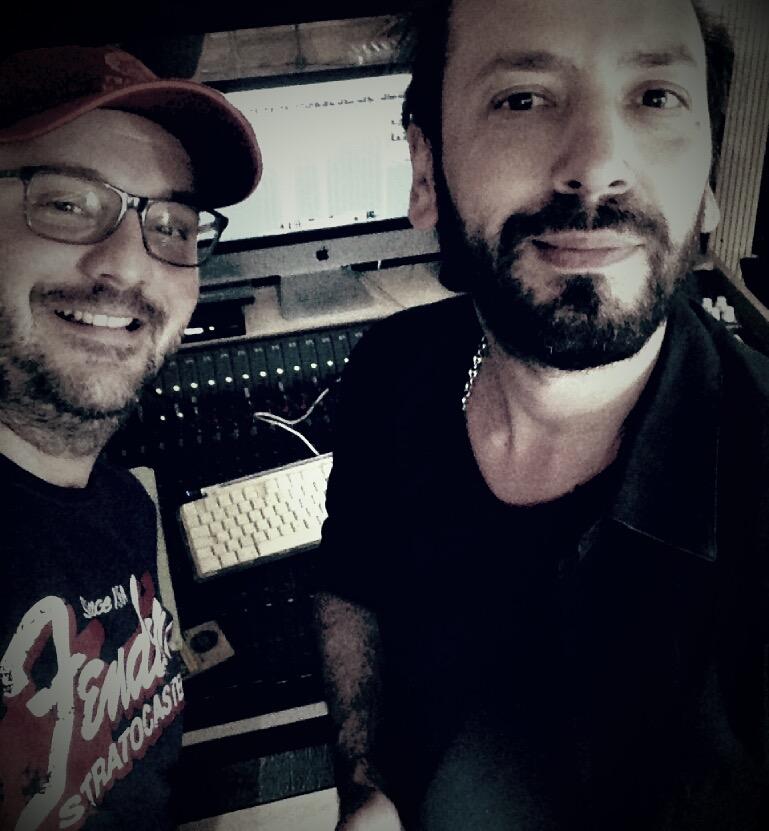 con Francesco Di Marco (Tiromancino)
