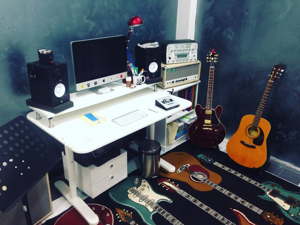 MC Guitar studio work in progress