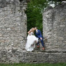 Kitchener Ruins Wedding Photographer