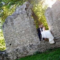 Kitchener Ruins Wedding Photos