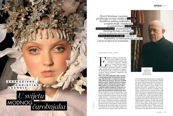 Interview with Christian Lacroix