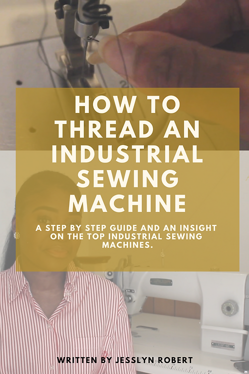 How To Thread An Industrial Sewing Machine - Step by Step guide