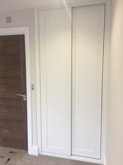 shaker style sliding wardrobe