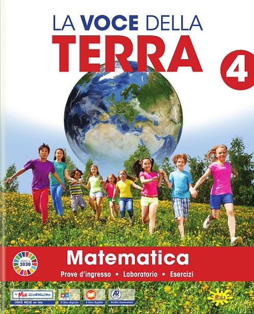 La Voce della Terra  - Area Matematico-scientifica classe 4 (completa)