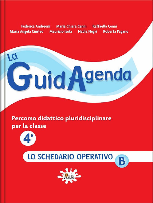 La GuidAgenda classe 4ª - schedario operativoB