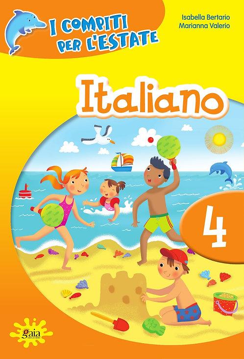 Compiti per l'estate Italiano 4