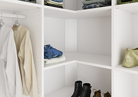 fitted corner sliding wardrobe