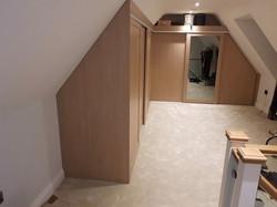 Slidng wardrobe sloping ceiling 2