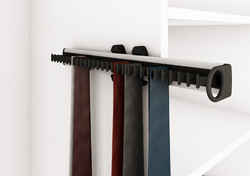 tie holder pull out